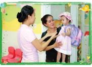 Để trẻ sớm thích nghi với trường mầm non